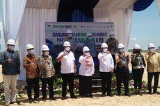 Ground Breaking Pabrik Pangansari, Khofifah Berharap Ekonomi Jawa Timur Segera Bangkit