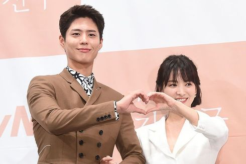 Pesan Song Joong Ki kepada Song Hye Kyo dan Park Bo Gum