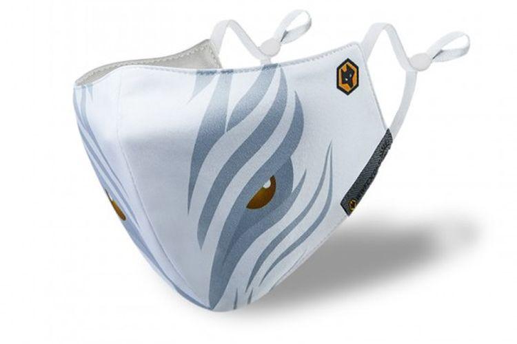 Masker wajah Wolverhampton Wanderers.