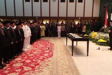 Ahok Resmi Lantik Kepala Kanreg V BKN Jakarta dan Ratusan Pejabat Eselon