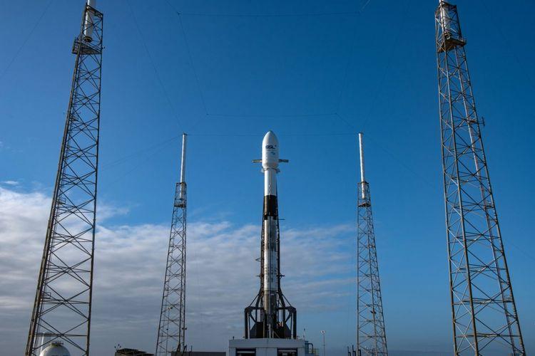 Falcon 9 milik SpaceX membawa satelit Nusantara Satu milik Indonesia meluncur ke orbit pada Jumat (22/2/2019) pukul 8.45 WIB.