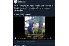 Viral, Video Pria Sembuh dari Covid-19 Pulang Jalan Kaki ke Rumahnya Sejauh 8 Km, Ini Sebabnya