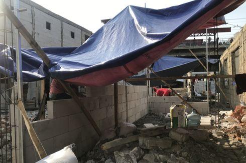 Korban Kebakaran Kampung Bandan Mulai Bangun Rumah Sendiri