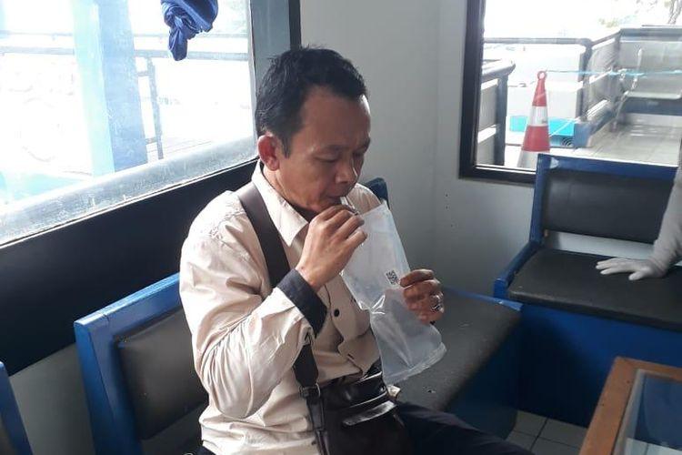 Tes Genose pada penumpang bus AKAP di terminal di bawah pengelolaan BPTJ