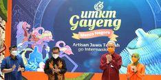 Buka Pameran UMKM Gayeng 2021, Ganjar: Produk Jateng Siap Masuk Pasar Internasional