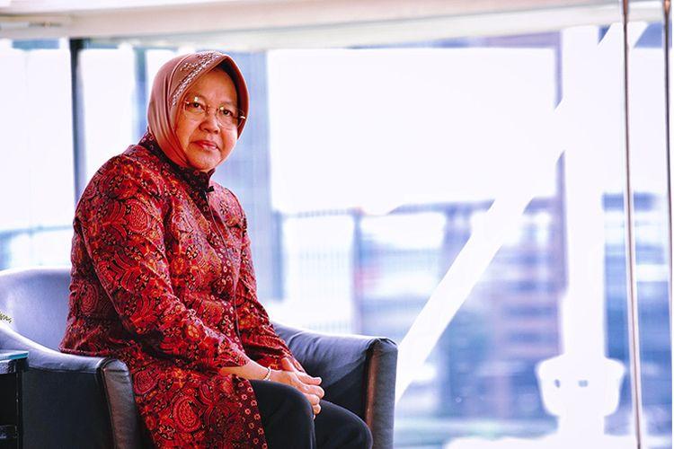 Sepanjang masa jabatannya, Risma melakukan berbagai upaya untuk membangun dan mengubah wajah Kota Surabaya.