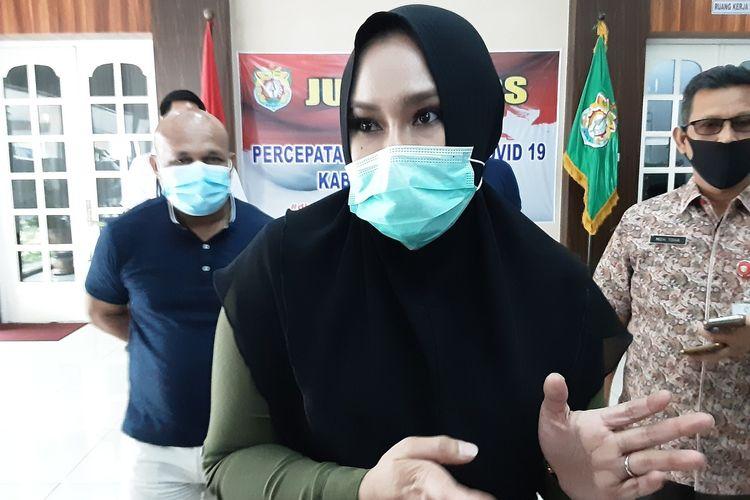 Bupati Kendal Jawa Tengah, Mirna Annisa. KOMPAS.COM/SLAMET PRIYATIN