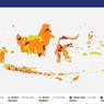 Zona Merah Covid-19 Indonesia Turun Drastis, dari 131 Jadi 53 Kabupaten/Kota