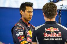 Grafik Positif Sean Gelael Saat Tes bersama Toro Rosso