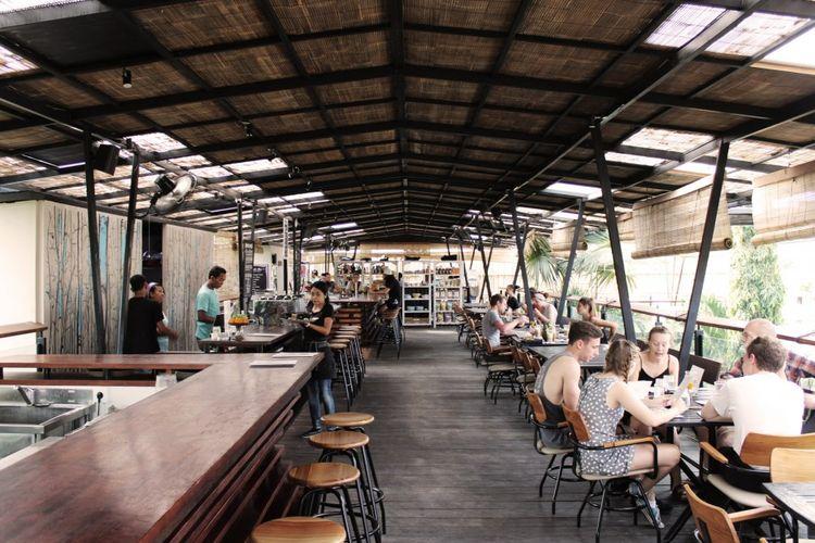 Roam co-living housing di Ubud, Bali.