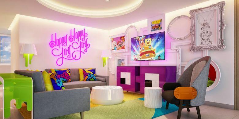 Nickelodeon Hotels & Resorts, administrado por Karisma Hotel & Resorts de México, cuenta con una colección denominada Big Kahuna Suite en la Riviera Maya (documento. Https://www.karismahotels.com/).