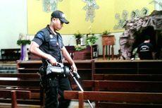 Jelang Perayaan Natal, Tim Jibom DIY Sterilisasi Gereja