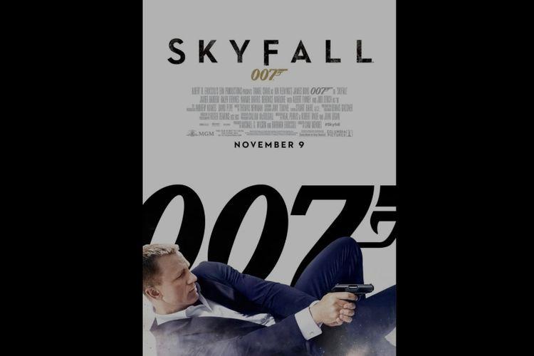 Poster film Skyfall.