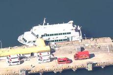 Kapal Feri Jepang Diduga Tabrak Paus, 87 Penumpang Luka-luka
