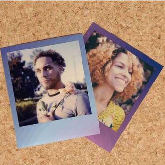 Frame color i-type film polaroid terbaru