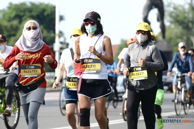 Perlombaan lari marathon UI Ultra 2020 berlangsung secara virtual pada 11-13 Desember 2020