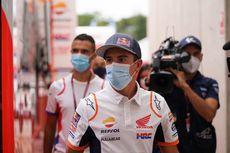 Misi Marc Marquez Kunjungi Paddock Repsol Honda pada MotoGP Catalunya