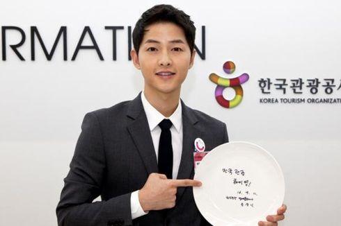 Song Joong Ki Kirim Food Truck Kejutan untuk Junho