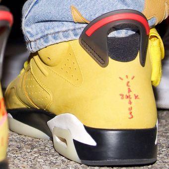 sepatu Air Jordan 6 Travis Scott