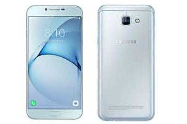 Smartphone Samsung Galaxy A8 edisi 2016.
