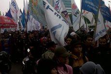 Tolak Omnibus Law dan Kenaikan Tarif BPJS Kesehatan, KSPI Gelar Unjuk Rasa di DPR