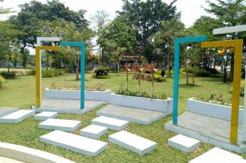 Mengenang Keteguhan Paskibraka Tangsel di Taman Kakak Aurell