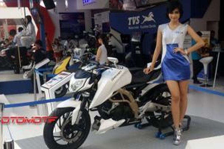 TVS Draken mejeng di Jakarta Fair 2014