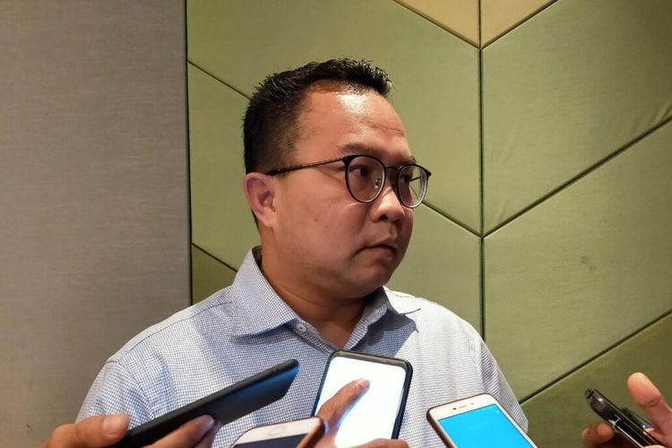 Rektor Institut Pertanian Bogor (IPB) University Arif Satri saat diwawancara, Jumat (10/1/2020).
