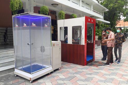 Bilik Sterilisasi di Surabaya Diproduksi Massal, Sehari 10 Unit