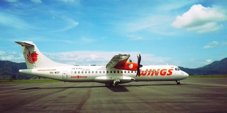 Sebuah pesawat Wings Air milik maskapai penerbangan Lion Grup yang berhasil mendarat dengan mulus di Bandara Rembele Takengon, Bener Meriah, Aceh, Jumat (22/7/2016) sekitar pukul 11..50 WIB. Pesawat tersebut sedang melakukan proving flight atau uji terbang di bandar udara kebanggaan masyarakat Gayo tersebut.