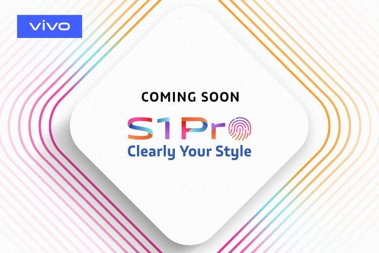 Gambar teaser Vivo S1 Pro