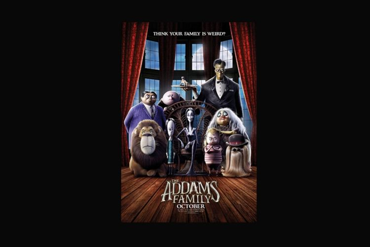 Poster animasi The Addams Family
