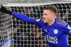 Cetak Dua Gol, Jamie Vardy Pimpin Daftar Top Skor Liga Inggris