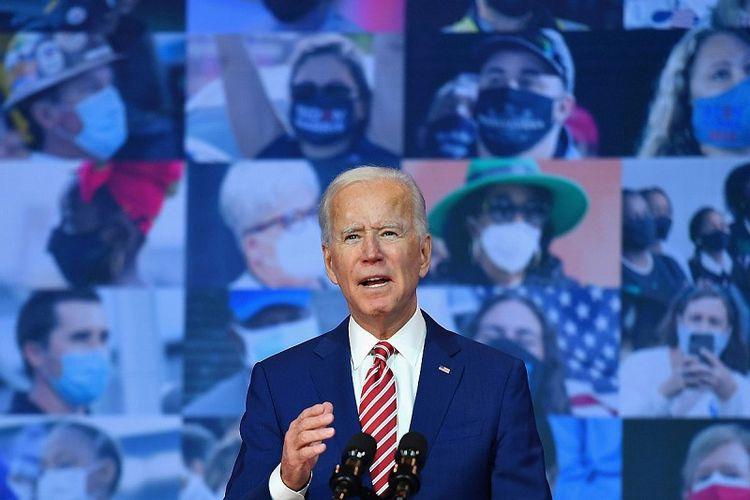 Calon Presiden Partai Demokrat yang juga mantan Wakil Presiden Amerika Serikat Joe Biden