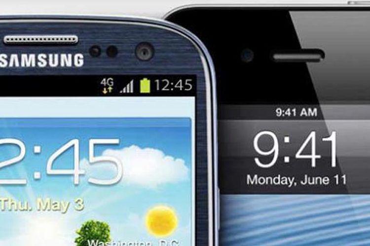 Samsung dan Apple