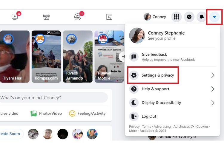 Cara unblock teman di Facebook