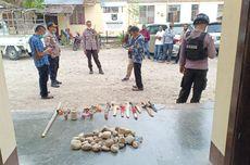 Tawuran Antar Simpatisan Paslon di Pilkada Malaka, 13 Orang Ditangkap