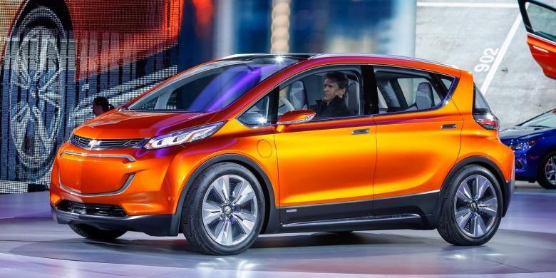 Mobil konsep listrik terbaru GM, menyasar pada level konsumen yang lebih luas.