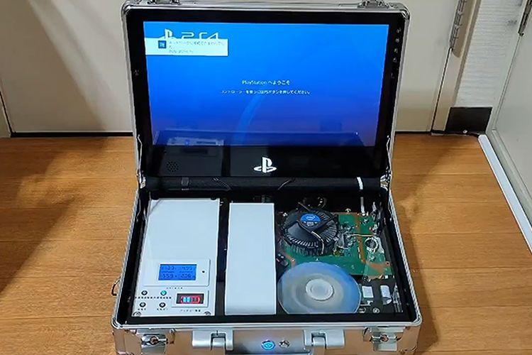 PS4 portable kreasi teknisi asal Jepang bernama DX Terraria