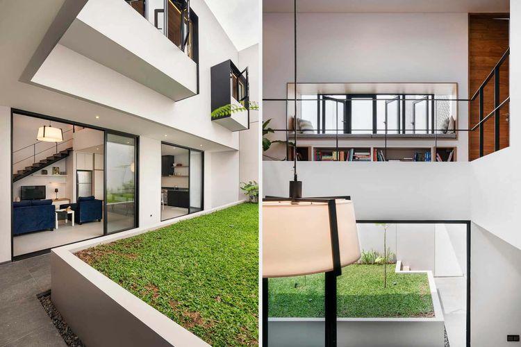 Ruang terbuka yang terintegrasi dengan eksterior