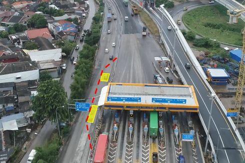 Ada Perbaikan, Eks-Gerbang Tol Cikunir 2 Hanya Ada 1 Lajur yang Dapat Dilintasi