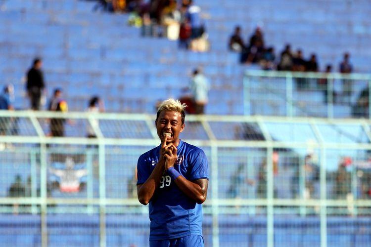 Pemain Arema FC, Kushedya Hari Yudo.