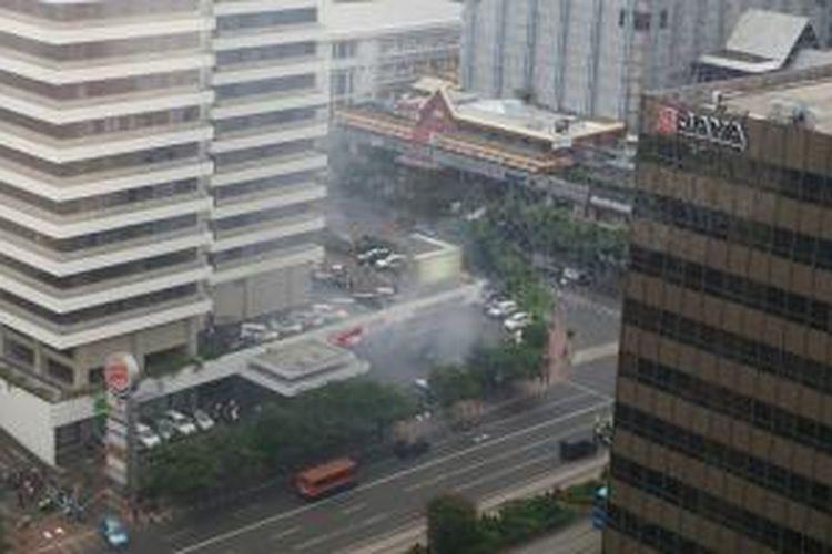 Situasi ledakan bom di Sarinah