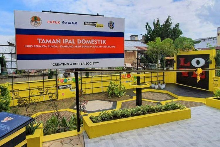 Instalasi Pengolahan Air Limbah (IPAL) domestik yang dibangun Pupuk Kaltim bersama Kementerian Lingkungan Hidup dan Kehutanan.