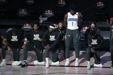 Ada Logo Sayap Kelelawar di Jersey Brooklyn Nets