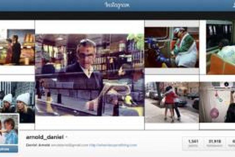 Akun Instagram Daniel Arnold