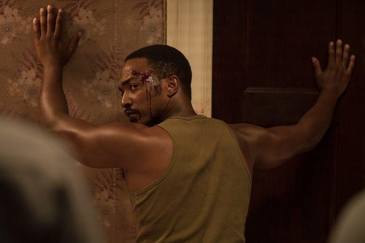 Anthony Mackie dalam film Detroit