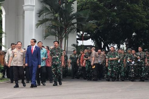 Jokowi Ingin Tamtama dan Bintara Pensiun pada Usia 58 Tahun, UU TNI Akan Direvisi