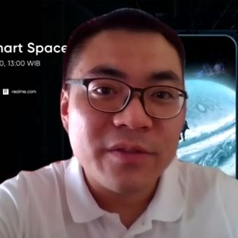 Marketing Director Realme Indonesia, Palson Yi, dalam wawancara eksklusif bersama KompasTekno, Kamis (4/6/2020).