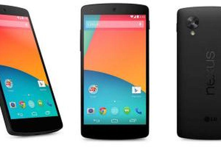 LG Nexus 5.